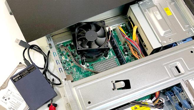 パソコンの修理もお任せください。